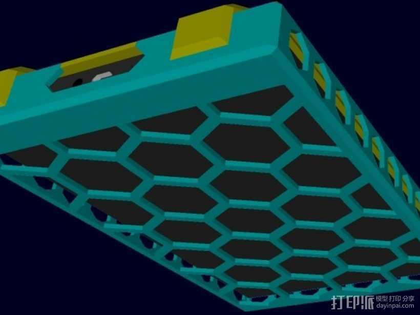kindle保护壳 3D打印模型渲染图