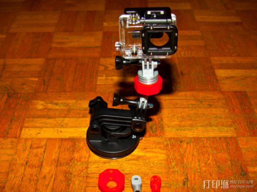 GoPro球形适配器 3D打印模型渲染图