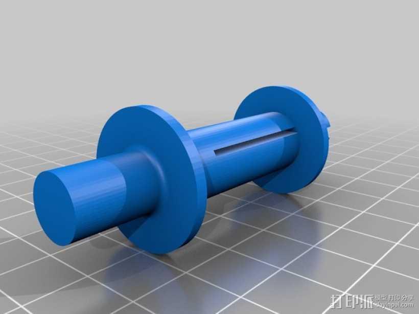 电影适配器 3D打印模型渲染图