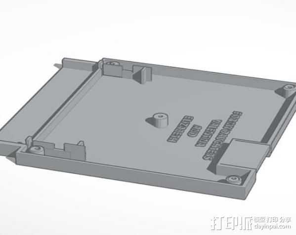 NES 墨盒 3D打印模型渲染图