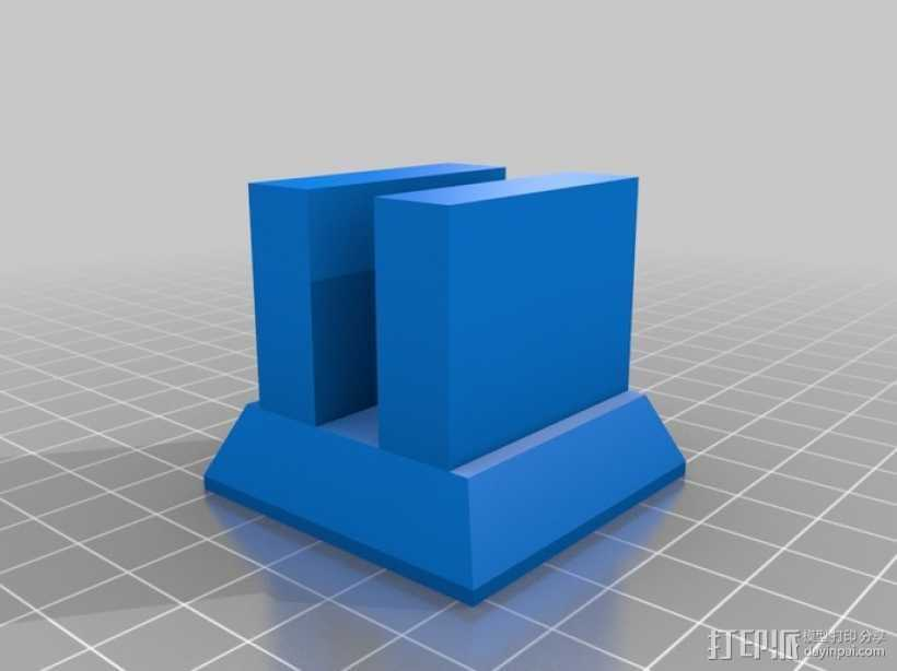 Nexus 7支架 3D打印模型渲染图
