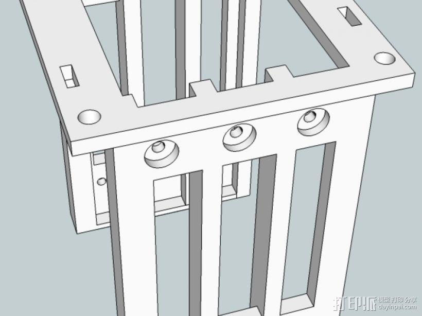 英特尔服务器 3D打印模型渲染图