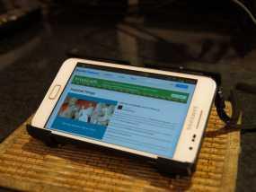 Samsung Galaxy Note手机座