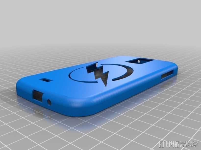 Galaxy S4 手机壳  3D打印模型渲染图