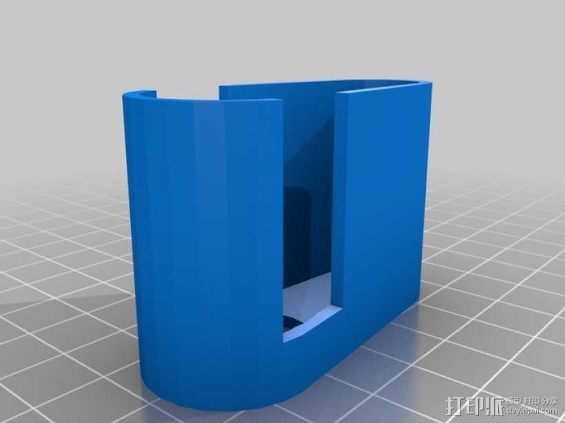 iPhone 5适配器 3D打印模型渲染图