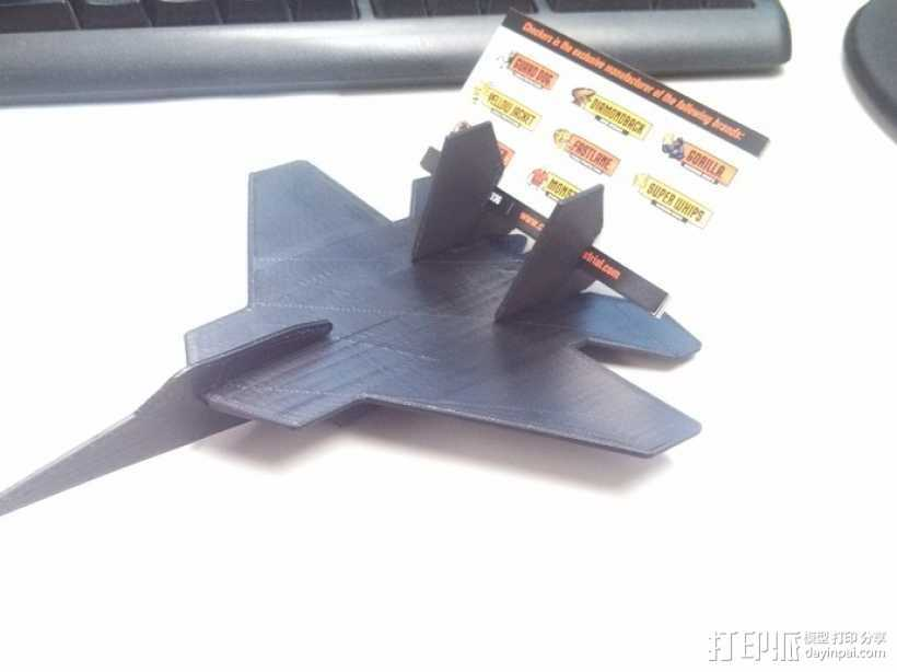 F-15卡片夹 3D打印模型渲染图
