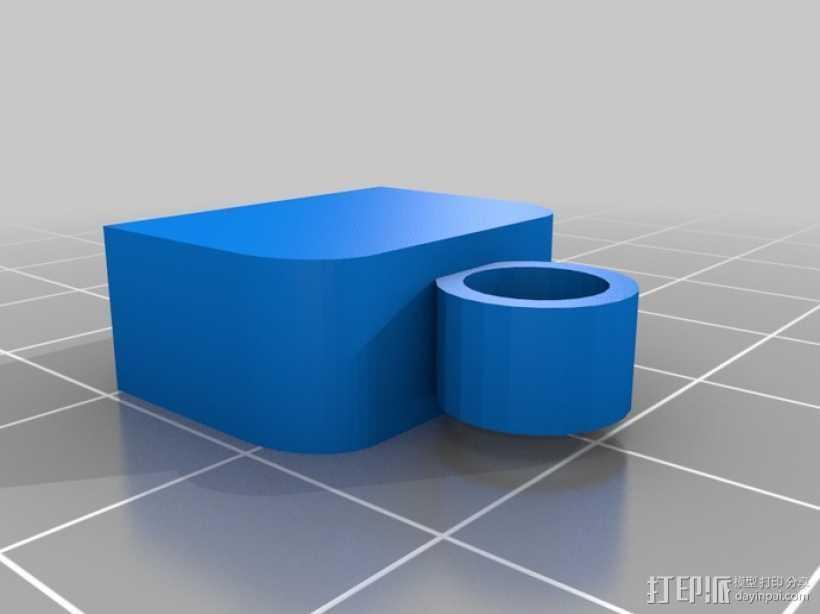USB保护盖 3D打印模型渲染图