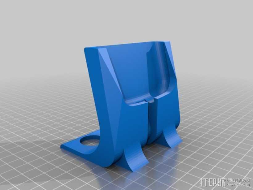 S3 手机座 3D打印模型渲染图