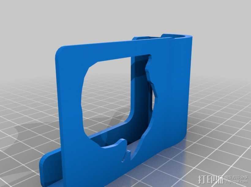 Microsoft Surface音量放大器 3D打印模型渲染图