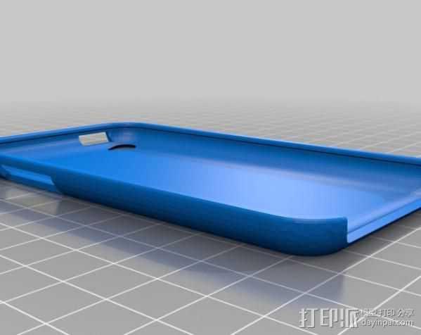 iPod Touch 4保护壳 3D打印模型渲染图