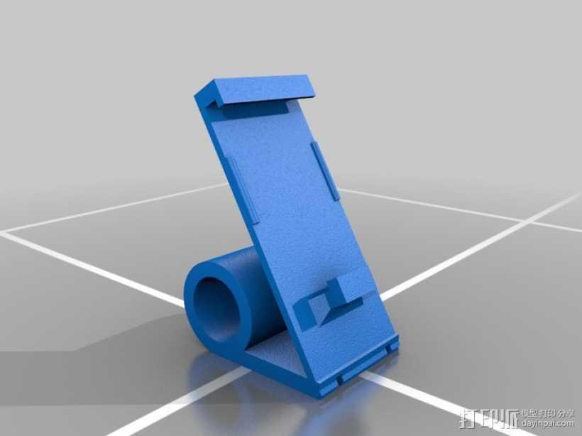 IPOD NANO手机座 3D打印模型渲染图