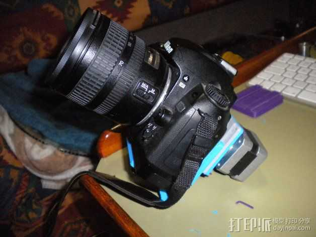 相机适配器 3D打印模型渲染图