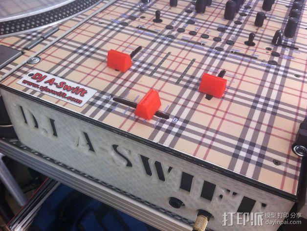 音量推动器 3D打印模型渲染图