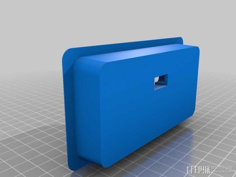 车载手机座 3D打印模型渲染图