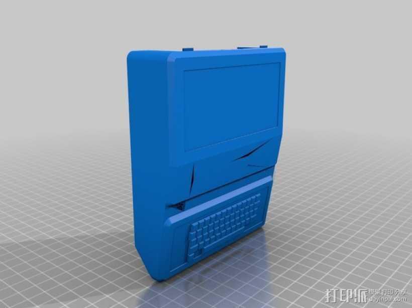 Apple II模型 3D打印模型渲染图