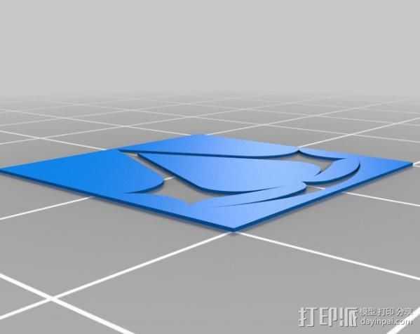Assassin's Creed摆件 3D打印模型渲染图