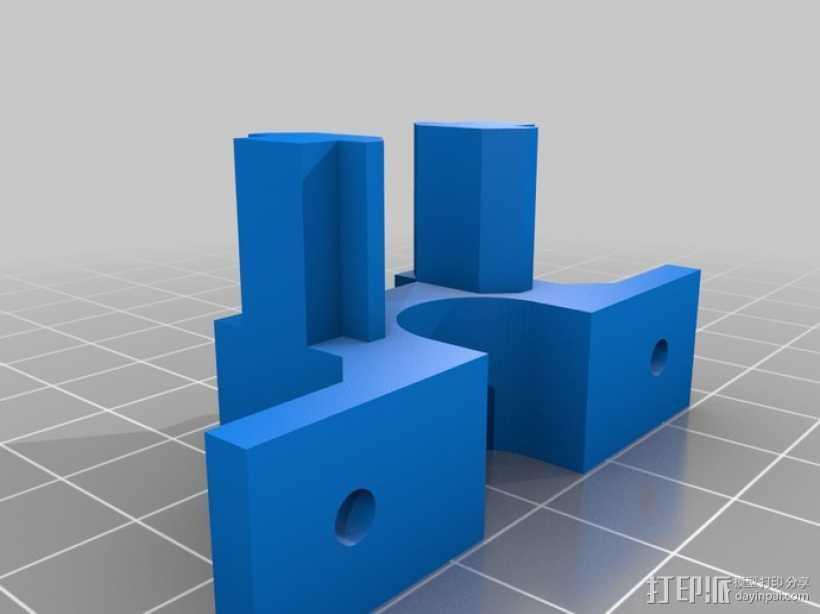 照相机滑块 3D打印模型渲染图