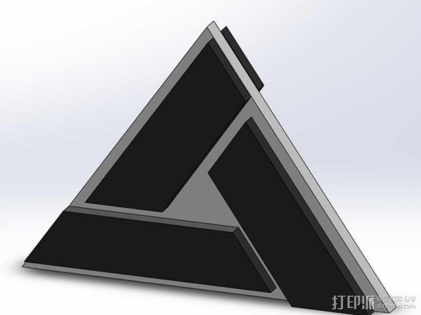 埃布斯塔格 3D打印模型渲染图