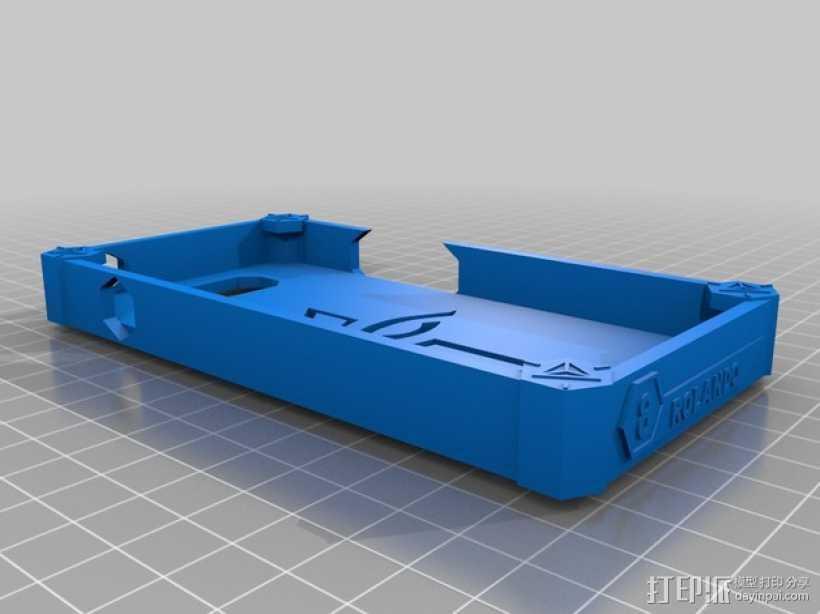 HTC ONE 手机壳 3D打印模型渲染图