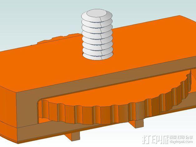 相机直线运动轴· 3D打印模型渲染图