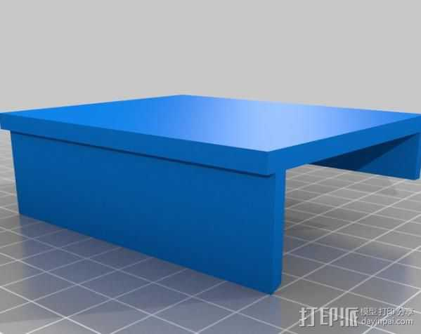 Xbox Kinetic 电视适配器 3D打印模型渲染图
