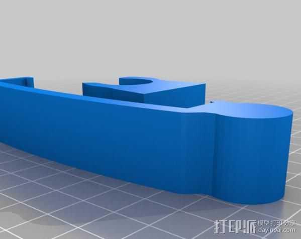 Note 2手机座 3D打印模型渲染图