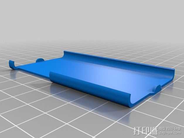 Nano保护壳 3D打印模型渲染图