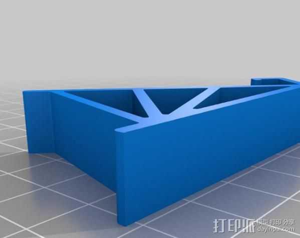 通用手机座 3D打印模型渲染图