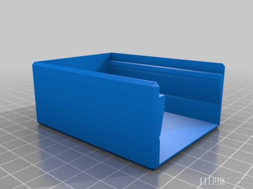 相机滑块 3D打印模型渲染图