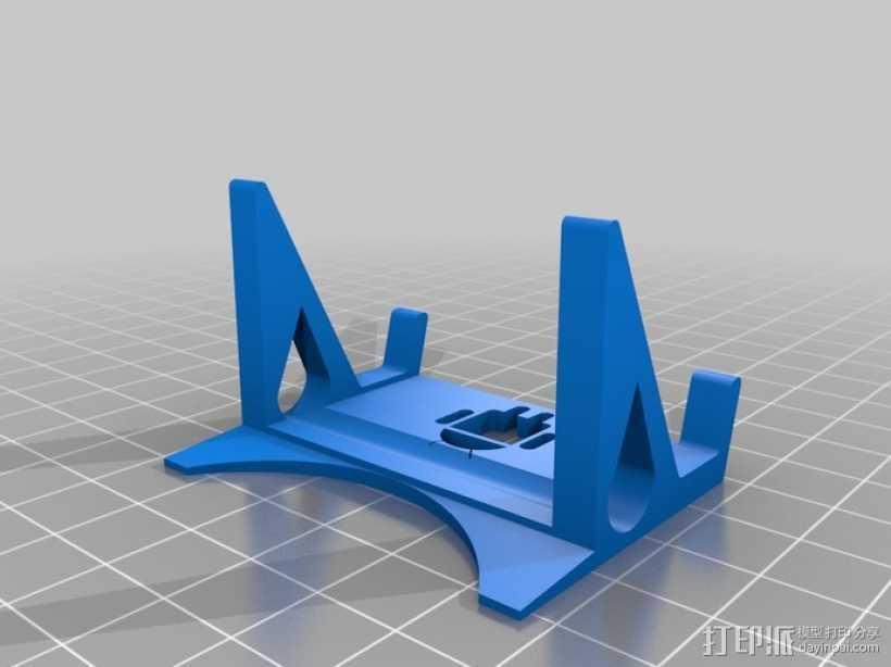 安卓手机座 3D打印模型渲染图