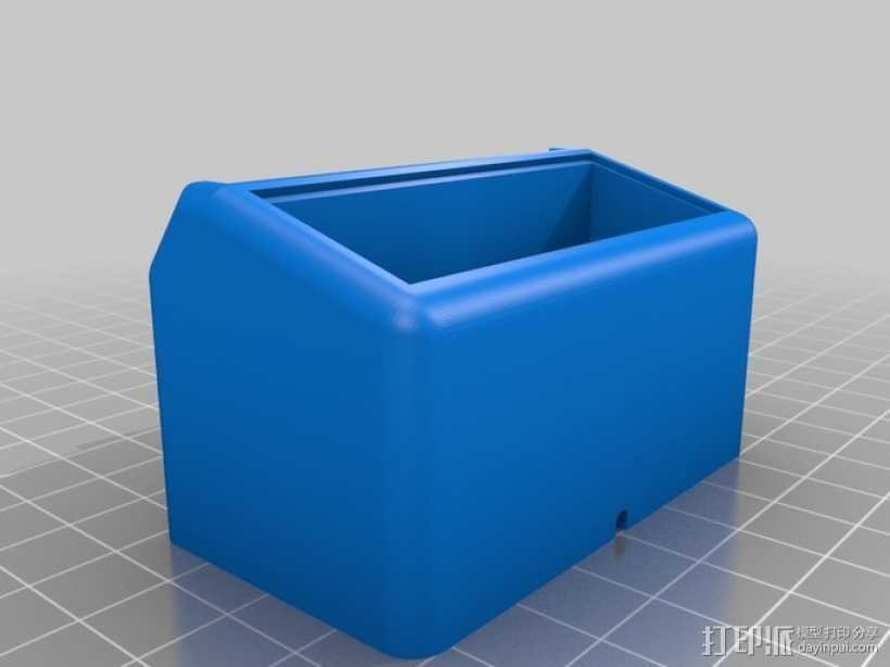 iPhone 5 手机座 3D打印模型渲染图