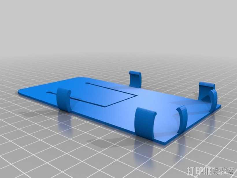 Samsung galaxy s3 绑带手机壳 3D打印模型渲染图