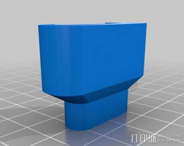 iPad充电器保护插头 3D打印模型渲染图