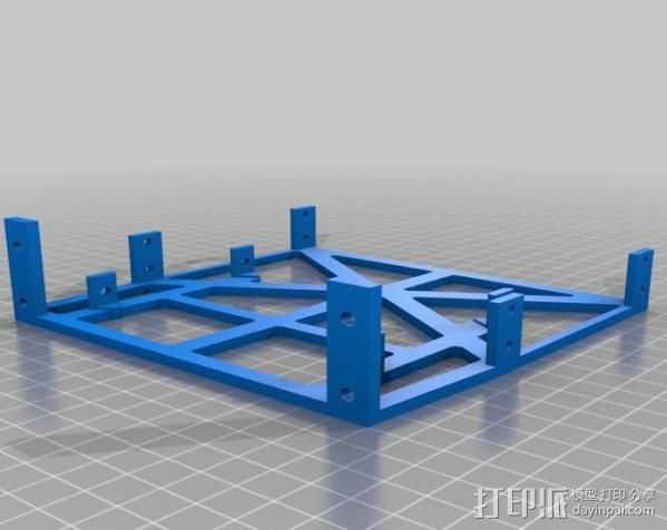 电脑机箱适配器 3D打印模型渲染图