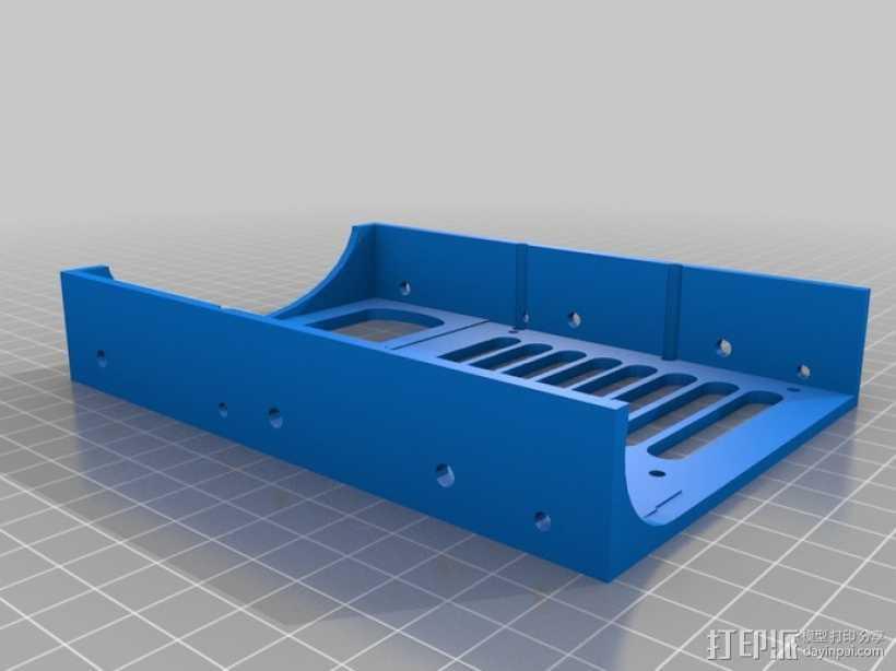 硬盘 3D打印模型渲染图