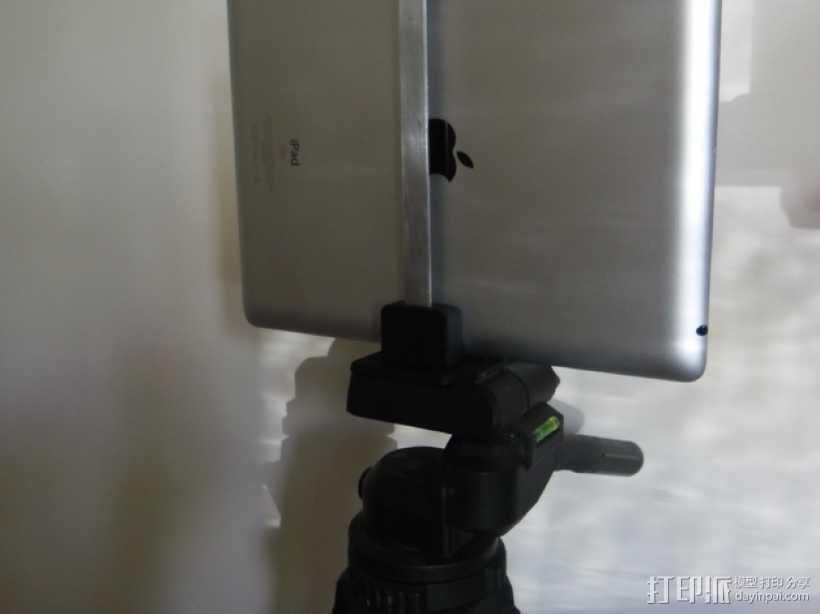 iPad三脚架 3D打印模型渲染图
