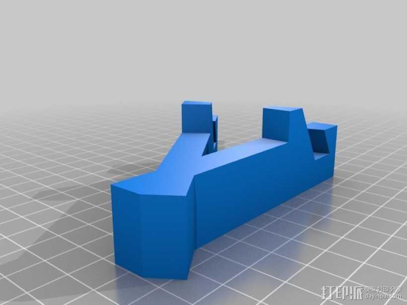 iPad支架 3D打印模型渲染图