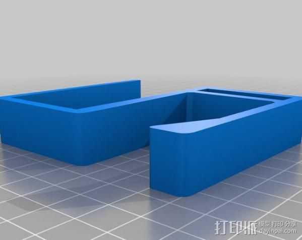 IKEA 挂钩 3D打印模型渲染图