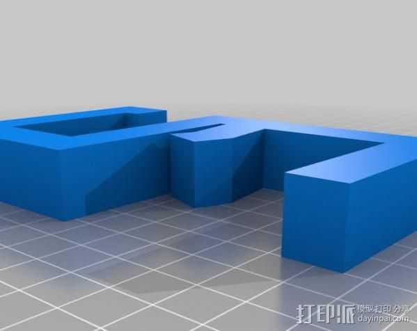 耳机架 3D打印模型渲染图