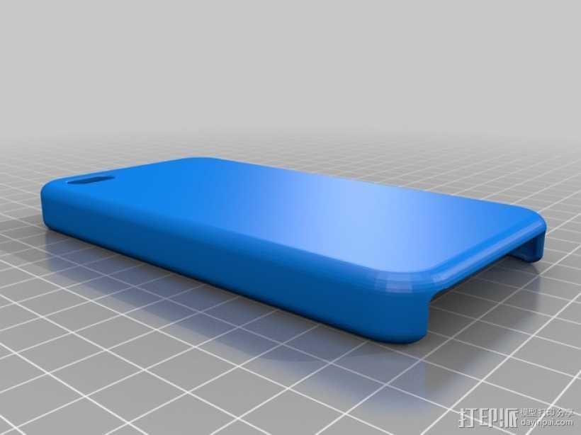 Iphone4 手机壳 3D打印模型渲染图