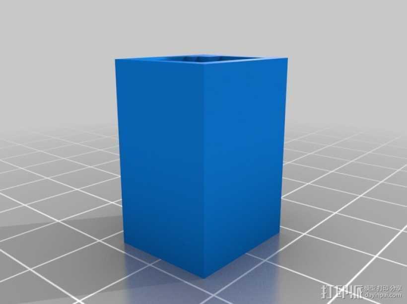 储存器 3D打印模型渲染图