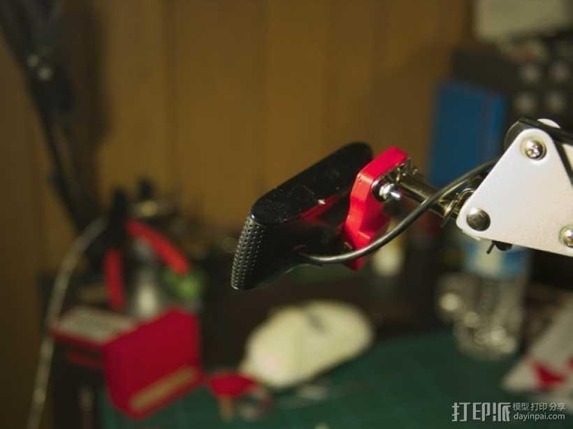 摄像头适配器 3D打印模型渲染图