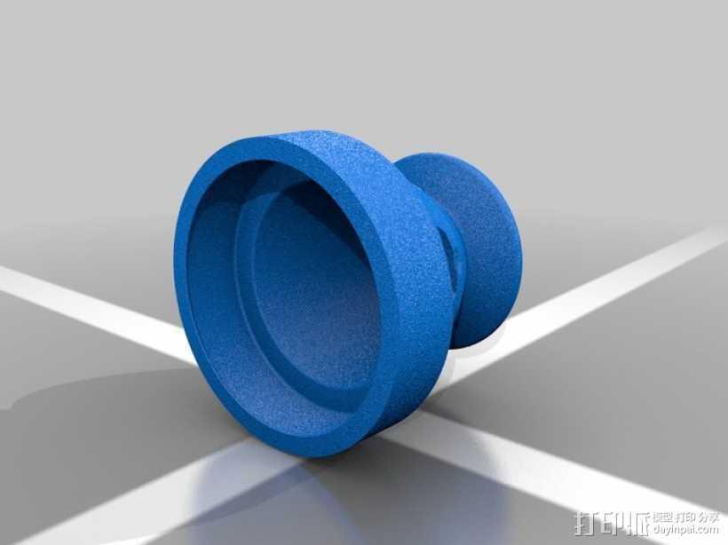 操纵杆适配器 3D打印模型渲染图