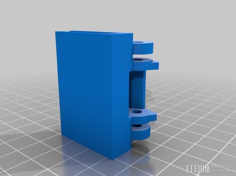 唱片机盖子 3D打印模型渲染图