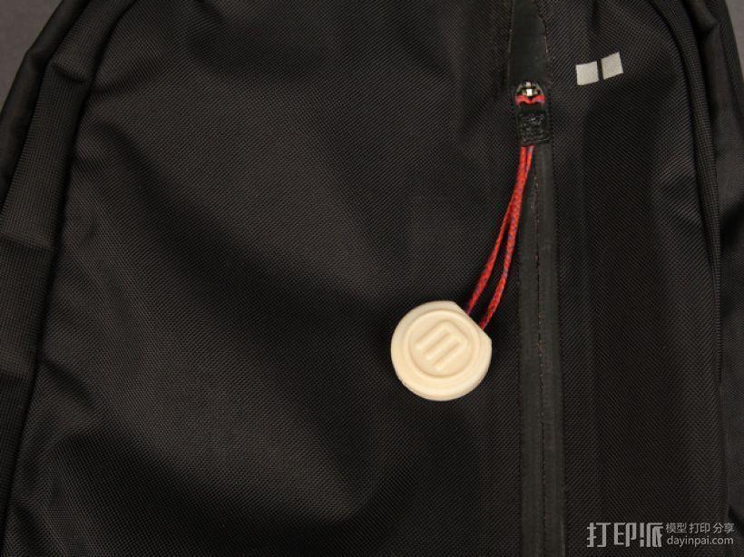 背包吊坠 3D打印模型渲染图