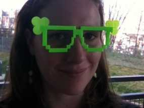 三叶草眼镜框/眼镜架
