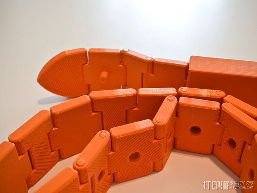 3D打印皮带 3D打印模型渲染图