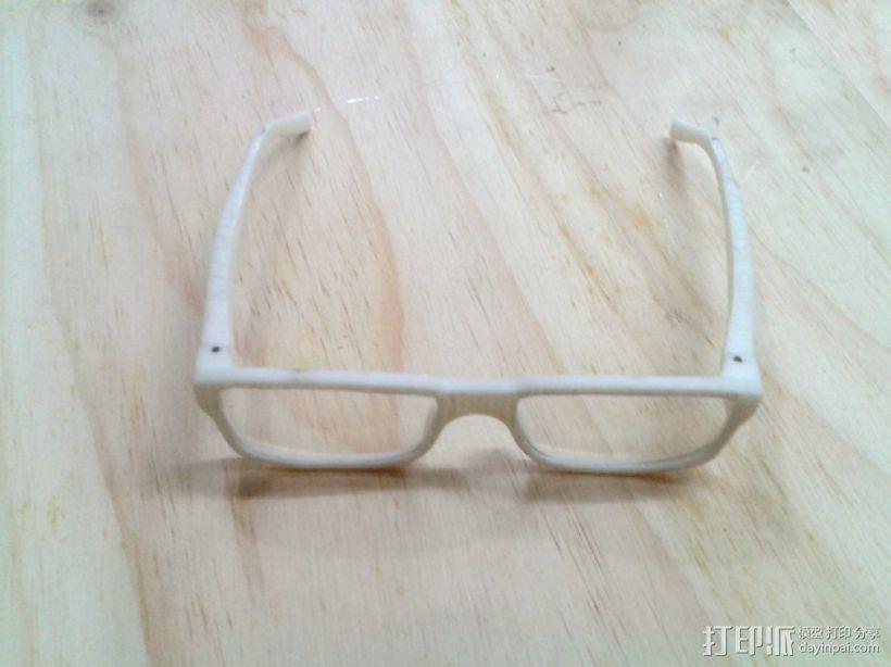 迷你备用眼镜 3D打印模型渲染图