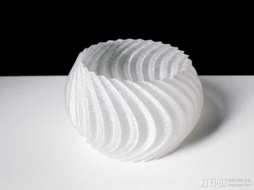 个性化手镯 3D打印模型渲染图