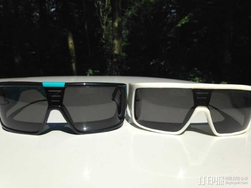 Dragon DOMO太阳眼镜/墨镜 3D打印模型渲染图